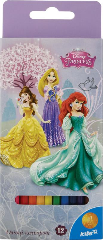 Карандаши цветные Princess, 12 цветов