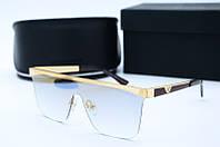 Солнцезащитные мужские очки Маска 2085 золотое