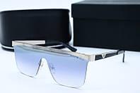 Солнцезащитные мужские очки Маска 2085 серое зеркало