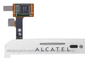 Тачскрин (сенсор) Alcatel 5035, 5035D One Touch X'Pop, white (белый), фото 2