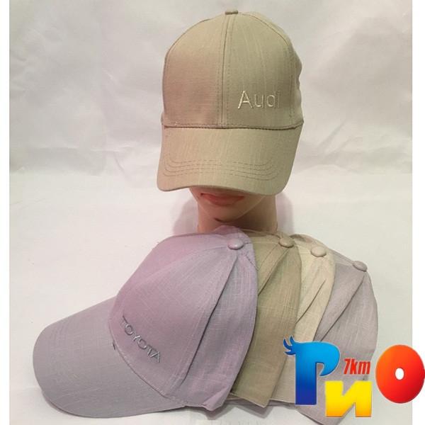 Детская  летняя кепка (лён) для мальчика р-р 58 (5 ед в уп) NA_8740