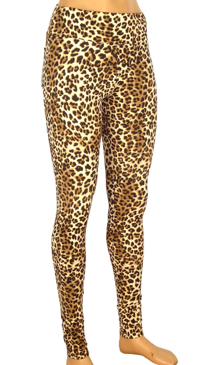 Модные леопардовые лосины 42-48