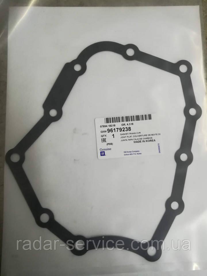 Прокладка задньої кришки МКПП, 96179238, GM