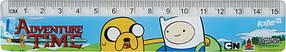 Линейка пластиковая Kite Adventure Time