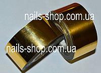"""Переводная фольга для ногтей рулон 3,5 см """"Золото"""""""