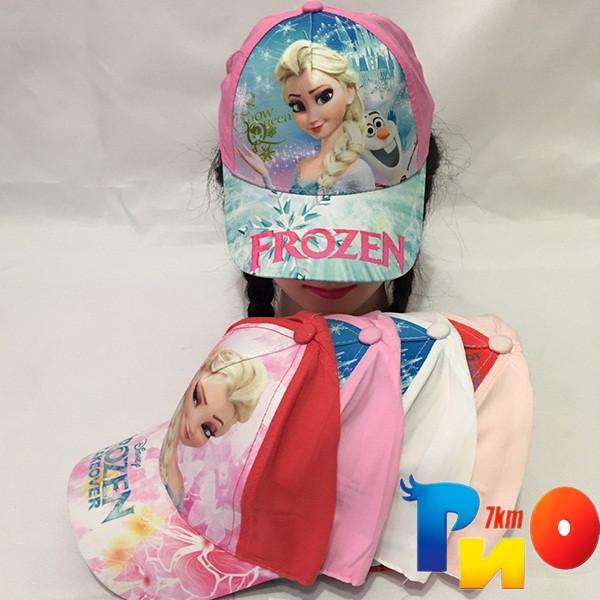 Детская  летняя кепка (100% cotton) для девочек р-р 52 (5 ед в уп) NA_7140