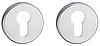 Накладка под цилиндр MVM E4 MOC - матовый старый хром