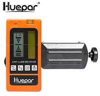 Лазерный приёмник Huepar красный/зелёный луч, фото 1
