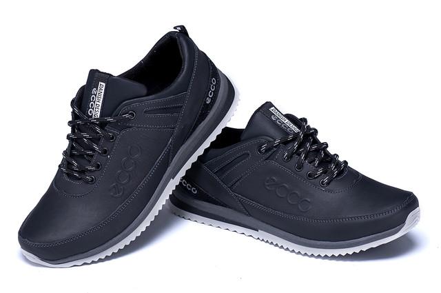 4cf7ae1f33e74a Мужские кожаные кроссовки Ecco Danish Desing на трехслойной подошве можно  даже холодной осенью или весной. Будьте уверены, ваши ноги будут тёплыми и  сухими.