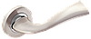 Дверные ручки MVM Z-1259 SN/CP - матовый никель/хром