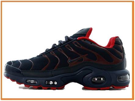 ba6d1ede Мужские кроссовки Nike Air Max Plus TN Blue Red (найк аир макс тн плюс,