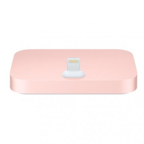 Док-станция iPhone Lightning Dock Rose Gold