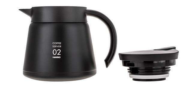 Чайник термос HARIO V60 600 мл (Термо графин) HS-60B для кофе