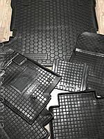 Комплект ковриков в салон и багажник Mitsubishi Pajero Wagon / Митсубиси Паджеро Вагон 4