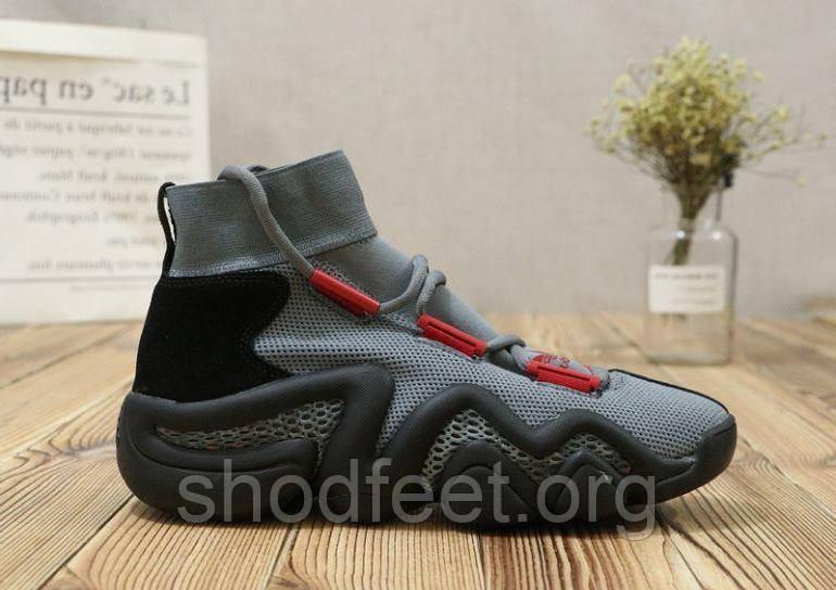 Мужские баскетбольные кроссовки Adidas Crazy 8 ADV Grey