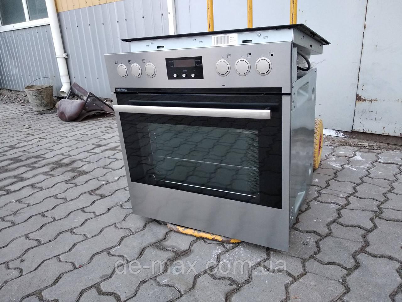 Духовой шкаф и индукционная варочная панель  privileg eh54000 e-im