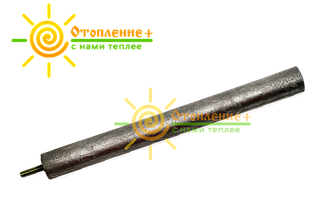 Магниевый анод m6Xd20 на короткой шпильке