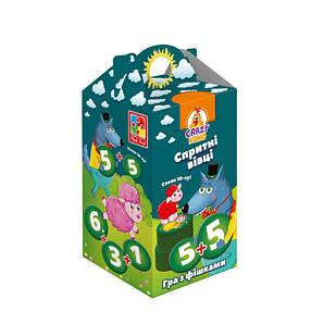 Настольная игра Vladi Toys Шустрые овцы. Хватай 10-ку! VT8033-03 укр (50026)