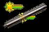 Магниевый анод m6Xd25 на короткой шпильке