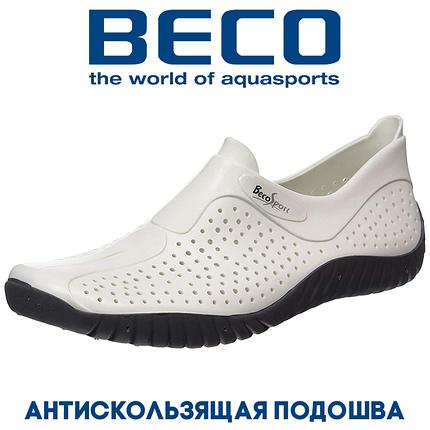 Аквашузы, обувь для серфинга и плавания BECO 9213 1 белый, фото 2