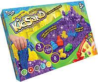 Живой кинетический песок с надувной песочницей Kidsand KS-02-02U