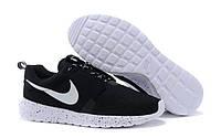 "Кроссовки мужские  Nike Roshe Run NM Breeze Black ""Черные"" р.42, фото 1"