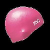 Шапочка для плавания ZOGGS Easy-fit Silicone Cap Pink (BB)