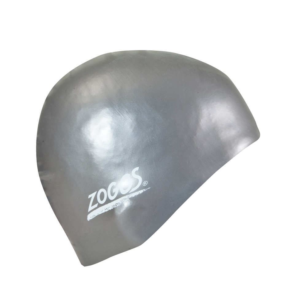 Шапочка для плавания ZOGGS Easy-fit Silicone Cap Silver (BB)