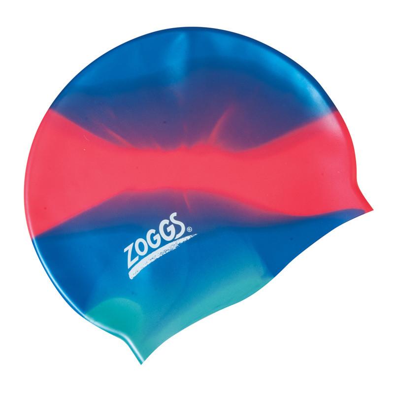 Шапочка для плавания ZOGGS Silicone Cap Plain Blue/Pink (BB)