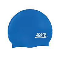 Шапочка для плавания ZOGGS Silicone Cap Plain Navy (BB)