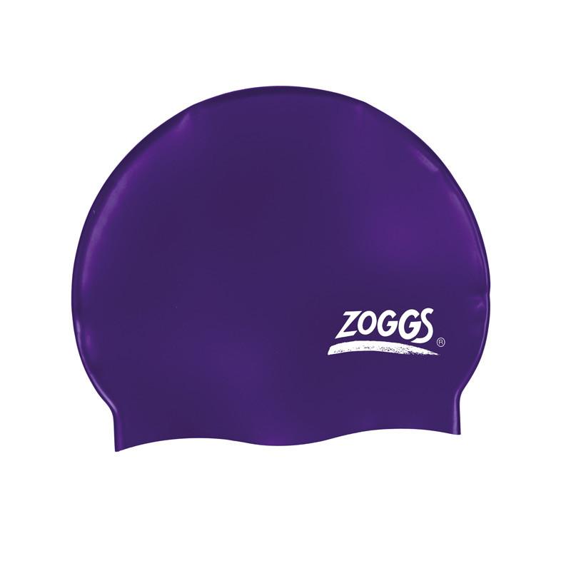 Шапочка для плавания ZOGGS Silicone Cap Plain Violet (BB)