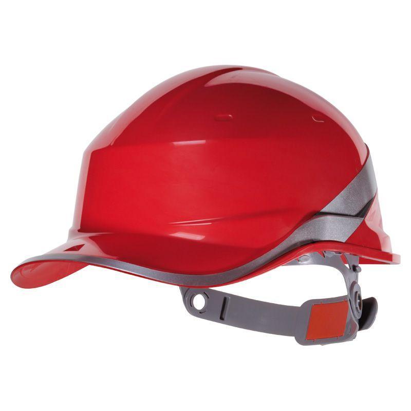 Каска захисна Delta BASEBALL DIAMOND V червона