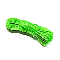 Веревка бельевая нейлоновая 4мм 10м
