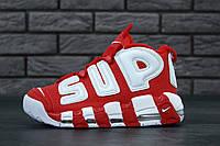 Кроссовки Nike Air Sup Tempo реплика ААА+ размер 36-39,42-45 красный (живые фото), фото 1