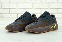 Кроссовки мужские Adidas Yeezy Boost 700 Mauve реплика ААА+, размер 41-45 коричневый (живые фото), фото 1