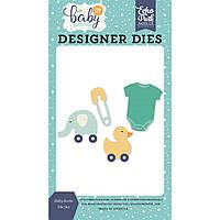 Нож для вырубки на машинке Echo Park Dies Baby Icons