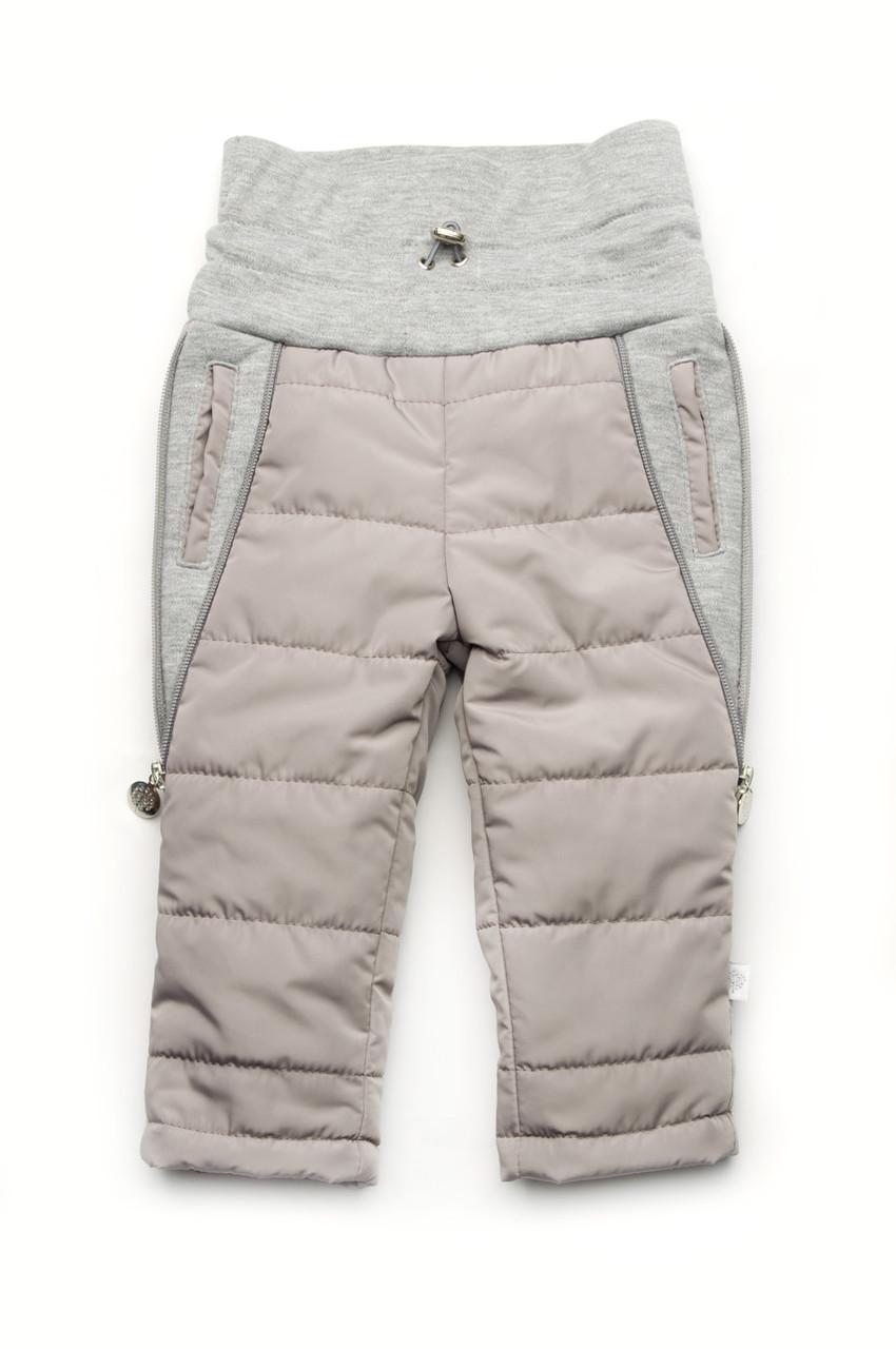 Утепленные штанишки для малышей от 6 месяцев до 1 года