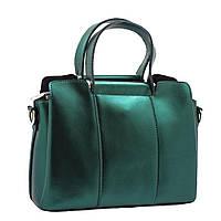 47b30400d254 Женскую зеленую кожаную сумку в категории женские сумочки и клатчи в ...