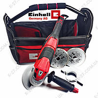Болгарка EINHELL TE-AG 125 CE Kit + Бонус (с регулировкой)