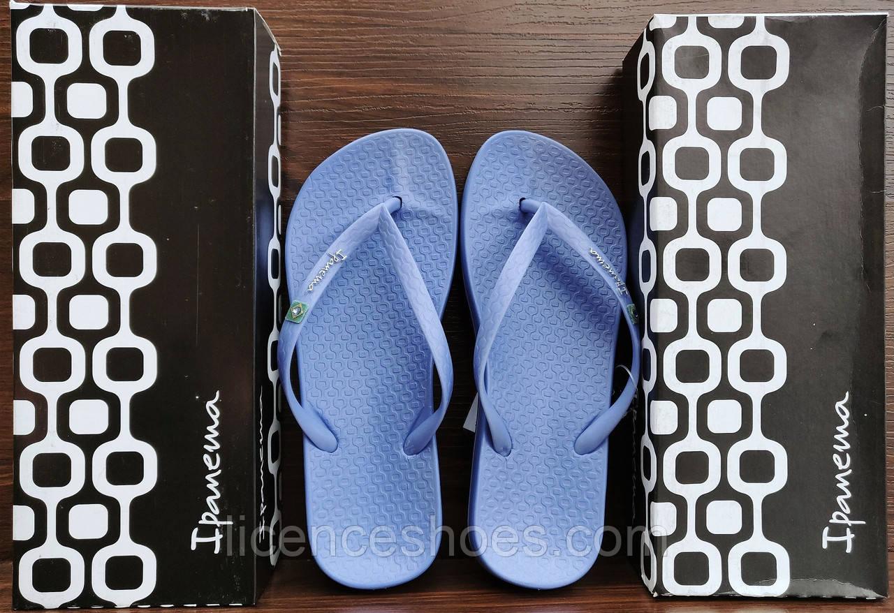 24 расцветок. Женские вьетнамки Ipanema Anat Brilliant III Blue/Blue