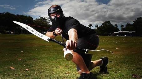 Archery tag, лучные бои
