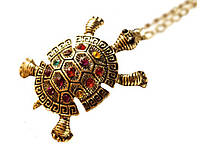 Цепочка Черепаха  Золотой