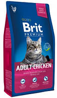 Сухой корм для котов Brit Premium Cat Adult Chicken 1.5кg