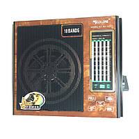 Радио RX 1431, Аналоговый радиоприемник, Портативное радио с фонариком, USB, Приемник переносной с юсб, фото 1