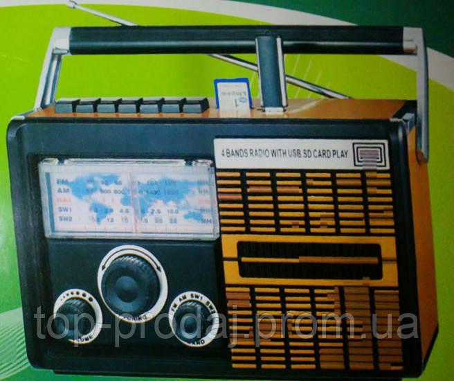 Радио CT 1200, Функциональный радиоприемник, Радио с USB портом, Портативный динамик, Радио колонка