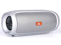 Портативна колонка JBL CHARGE 4 power bank, speakerphone, радіо  Сірий