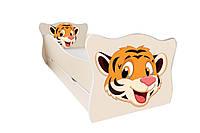 Кровать с ящиком Viorina-Deko Animal 4 Тигренок Желтый 70×140