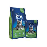 Сухой корм для котов Brit Premium Cat Sterilised 8кg