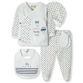 Комплект 10 в 1 для новорожденного мальчика  Bebitof Bebitof
