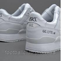 Кроссовки Asics TIGER Gel-Lyte III Leather White HL6A2-0101, фото 3